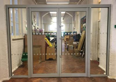 Aluminium Doors and Side Screens