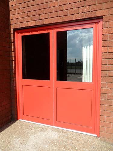 Aluminium Exit Doors